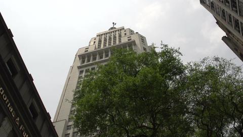 094 Sao Paulo , Banespa skyscraper Footage