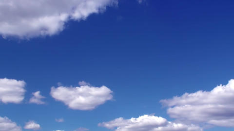 Dark Blue Time lapse Clouds HD Stock Video Footage