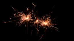Firework sparklers Footage