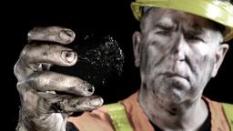 Coal Miner stock footage