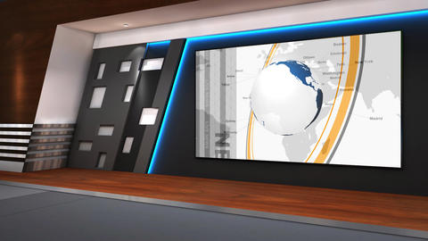 TV Studio 102c Animation