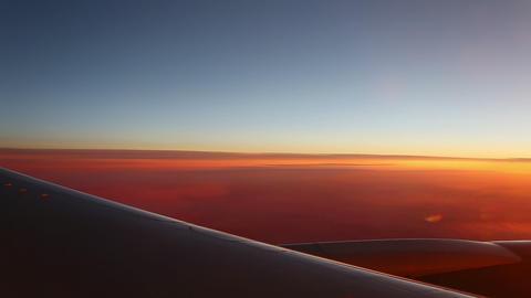 Aerial sunrise Stock Video Footage