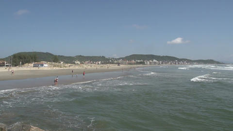 040 Laguna , Beach , coastline , panshot Stock Video Footage