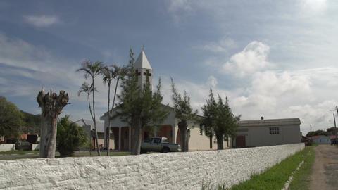 074 Laguna , small village , church Footage
