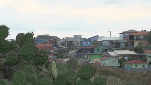 090 Laguna , Santa Marta village , colourfull , fo Footage
