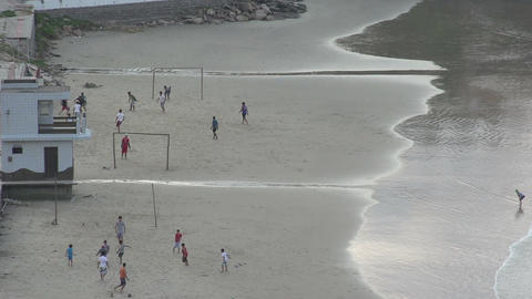 092 Laguna , Santa Marta village , playing soccer  Footage