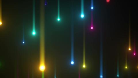 Glow particles 2 U 1 R 4 4 K 動画素材, ムービー映像素材