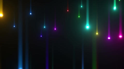 Glow particles 2 U 1 R 4 4 K Stock Video Footage