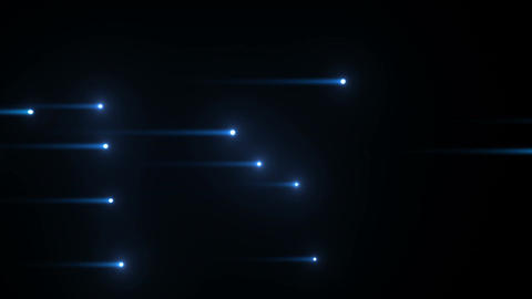 Glow particles 2 Y 1 B 1 4 K Stock Video Footage