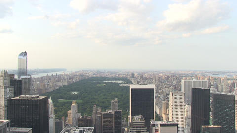Central Park from Skyscraper Footage
