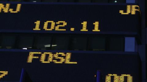Stock ticker Stock Video Footage