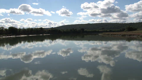 Lake in South Africa Stock Video Footage
