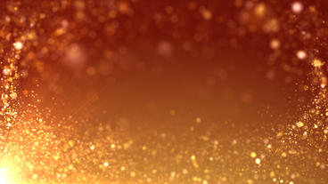 Golden Background Footage Particle HD stock footage