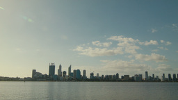 Perth City Afternoon Time Lapse Footage