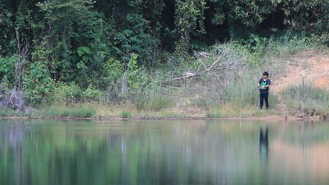 lure fishing Footage
