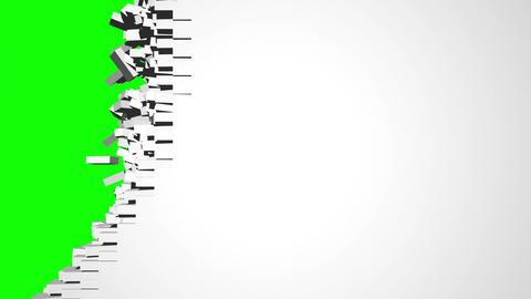 Brickwall Transition Animation