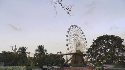 giant ferris wheel Footage