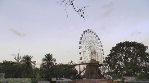 giant ferris wheel Footage