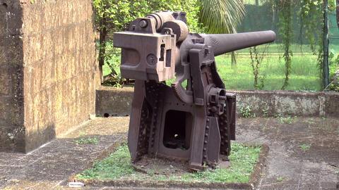 defense artillery static shot Footage