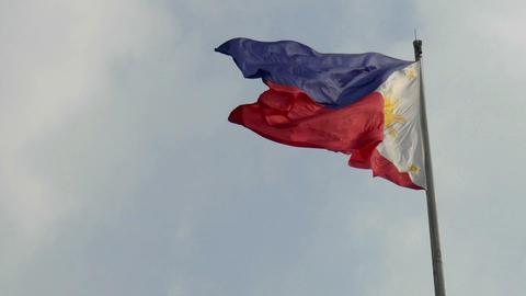 Philippine flag Footage