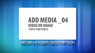 Colorful Simple Media Display After Effects Template