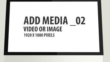 3D Screen WebSite Display After Effects Template