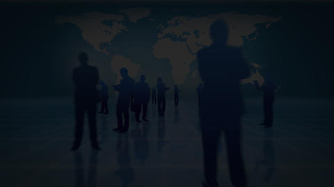 World Business Silhouette - 1