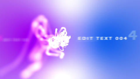 Blue and Pink Text After Effects Template