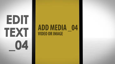 Phone Presentation After Effects Template