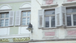 Editorial Bolzano Typical Houses Footage