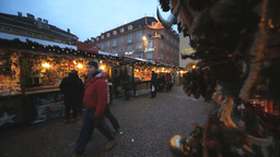 Editorial Christmas Market In Alto Adige Italy Footage