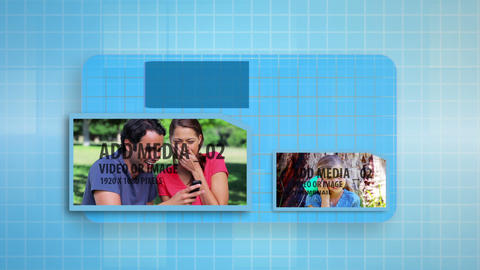Communication Display After Effects Template