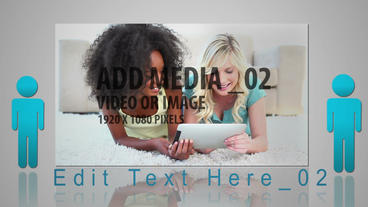Media Networking After Effects Template