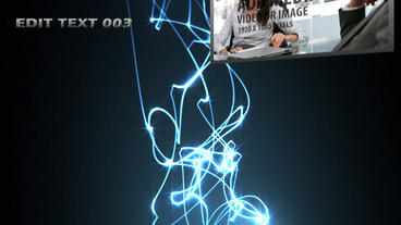 Energy Strings After Effects Template