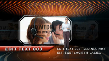 Fire News Report After Effects Template