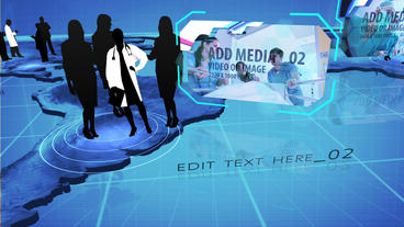 Global medical Practice After Effects Template