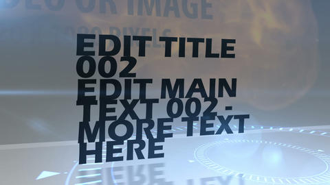 Text Overlay Sequence After Effects Template