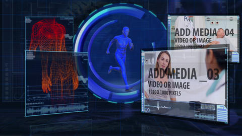Human Body Analysis After Effects Template