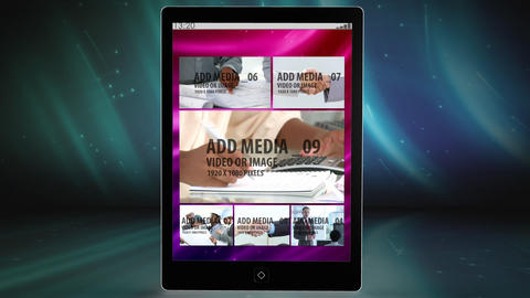 Tablet Presentation After Effects Template