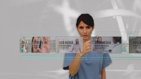 Doctors medical carousel display After Effects Template