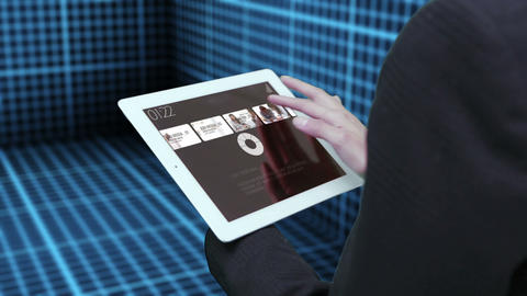 Business iPad Browsing After Effects Template