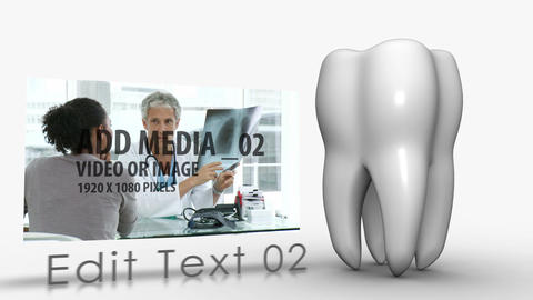 Dental Care Concept After Effects Template