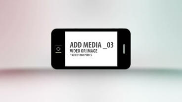 Simple Phone Display After Effects Template