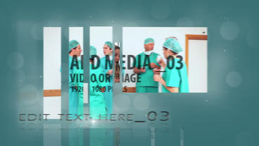 Clean Medical Slide Show After Effects Template