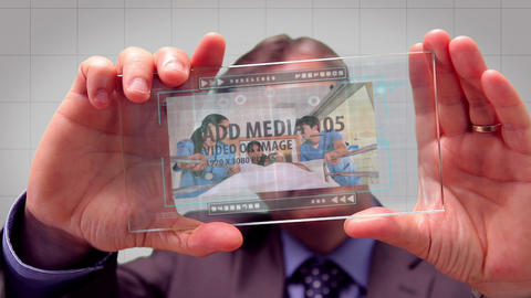 Glass Tablet After Effects Template