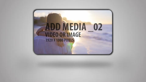 Media Dissolve After Effects Template