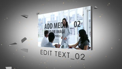 Inside the logo After Effects Template