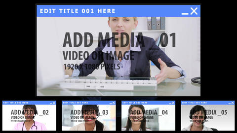 Global Video Hangout After Effects Template