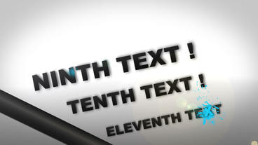 Dynamic Text With Paint Splash After Effects Template