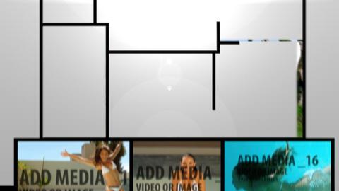 Multiple Video Monatge Stock Video Footage